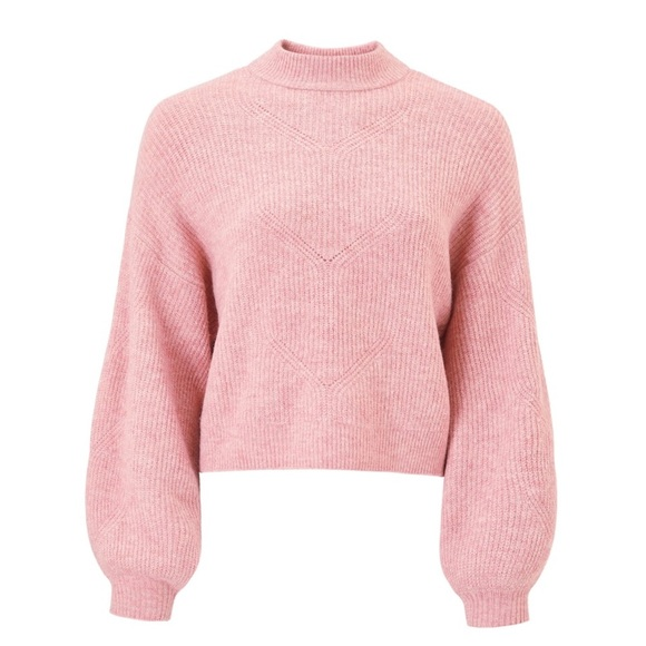 Pink balloon sweater